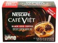 NesCafe* <2in1> ICED BLACK COFFEE BOX 24*15*16g